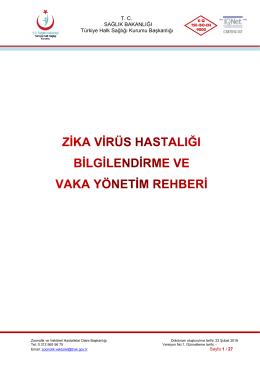 Versiyon No: 1 - Türkiye Halk Sağlığı Kurumu