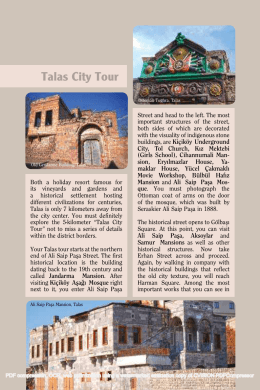 Talas City Tour