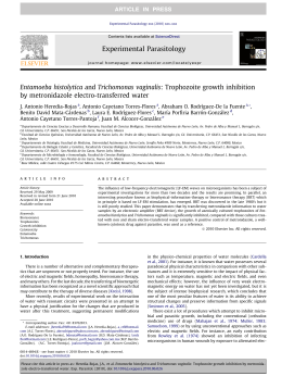 Entamoeba histolytica and Trichomonas vaginalis: Trophozoite