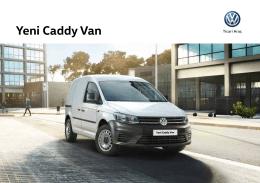 Yeni Caddy Van - Volkswagen Ticari Araç