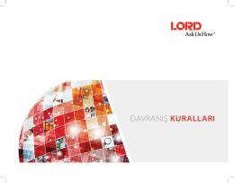 Davranış Kuralları - Lord Corporation