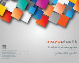 Maya Plastik Ambalaj San. Tic. A.Ş.
