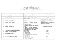 tc ataşehir belediye başkanlığı sağlık işleri müdürlüğü kamu hizmet