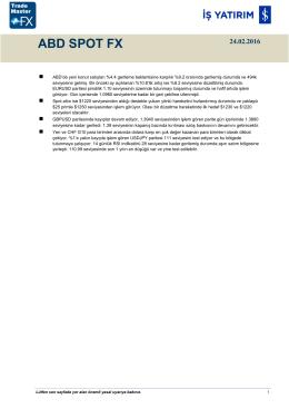 ABD SPOT FX - TradeMaster FX