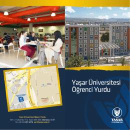 Yurt Kataloğu - Yaşar Üniversitesi | Öğrenci Yurdu
