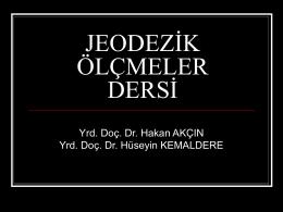 Jeodezik Datum