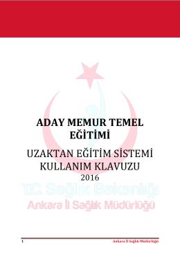 buradan - Ankara İl Sağlık Müdürlüğü