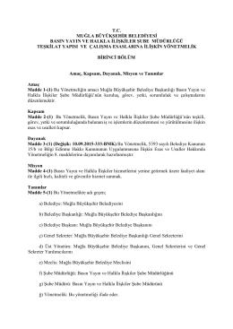 tc muğla büyükşehir belediyesi basın yayın ve