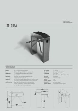 LTT 303A - Lukas Güvenlik Teknolojileri