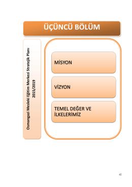 stratejik plan - Osmangazi Mesleki Eğitim Merkezi