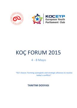 koç!forum!2015! - Koç EYP Forum 2016