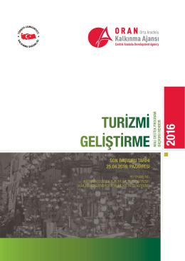 turizmi geliştirme - Orta Anadolu Kalkınma Ajansı
