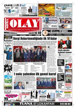 (3891) Pazartesi - Soma Olay Gazetesi
