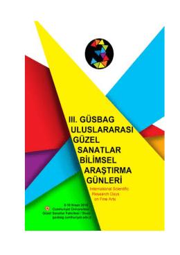 Sempozyum Programı ve Sergi - III. Uluslararası Güzel Sanatlar
