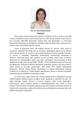 Prof. Dr. İlhan SATMAN