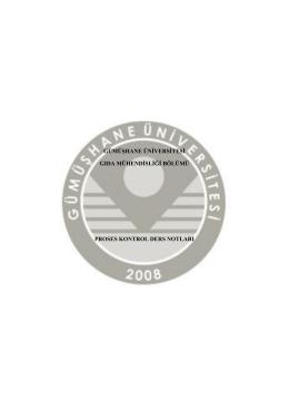 1-Giriş Dosya Boyutu - Gümüşhane Üniversitesi Enerji Sistemleri