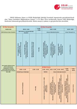 ORAN Kalkınma Ajansı ve KOSB Müdürlüğü İşbirliği Protokolü