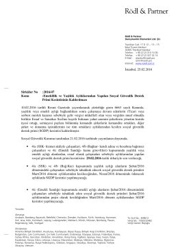 Sirküler No: 2016 / 47