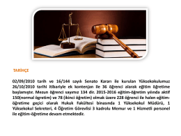 Slayt 1 - Adalet MYO