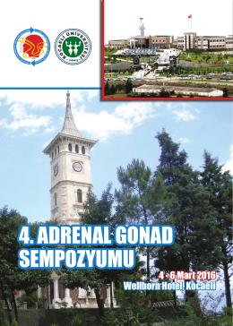 4. ADRENAL GONAD SEMPOZYUMU