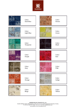 Hadeks Patchwork Colors