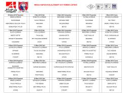 mega hafıza koleji mart ayı yemek listesi