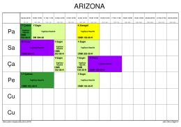 Arizona Ders Programı