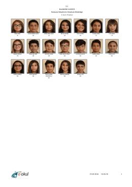 8-D Sınıfı - BALIKESİR / BURHANİYE