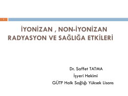 Slayt 1 - Dr.Saffet TATMA
