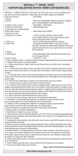 modeltente - Özgür Kocaeli Gazetesi
