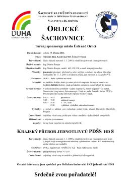 Orlická šachovnice + KPJ H/D 8