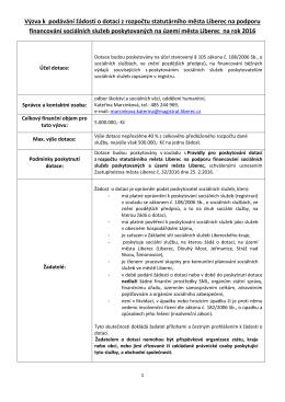 Dokument 1 - Statutární město Liberec