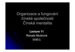 Lecture 11 - Jingjixue