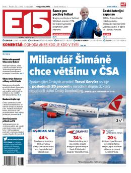 Miliardář Šimáně chce většinu v ČSA