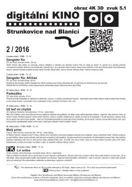 Plakát A4  - Strunkovice nad Blanicí