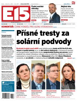 komentář: Černé pondělí pro Alenu VitáskoVou/ str. 12