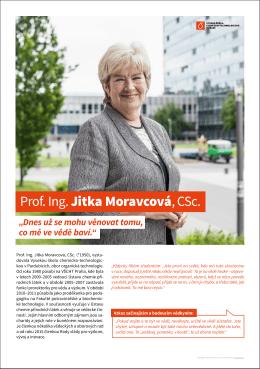 Prof. Ing. Jitka Moravcová, CSc.