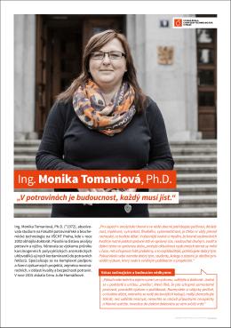 Ing. Monika Tomaniová, Ph.D.