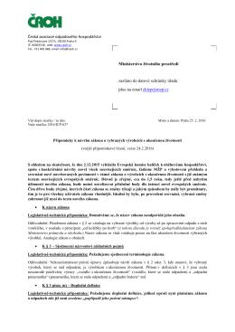 Česká asociace odpadového hospodářství Ministerstvo