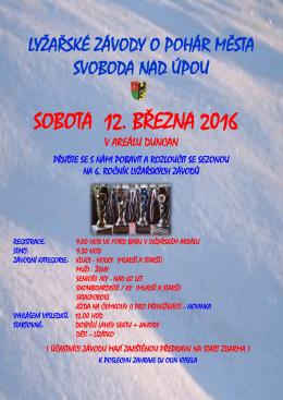 Lyžařské závody 2016
