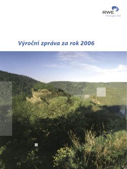 Výroční zpráva za rok 2006