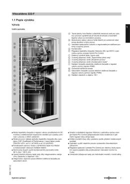 Produktový list | Technická data (PDF 880 KB)