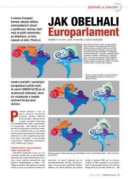 Jak obelhali Europarlament