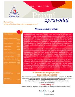 zpravodaj - Asociace malých a středních podniků a živnostníků ČR