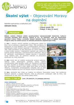 Objevování Moravy