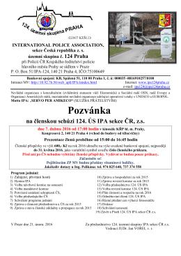 Pozvánka - ipa124praha.cz
