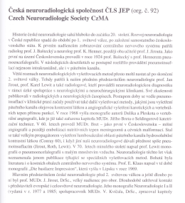 Czech Neuroradiologic Society CzMA