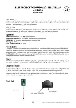 elektronický odpuzovač - multi plus an-b030