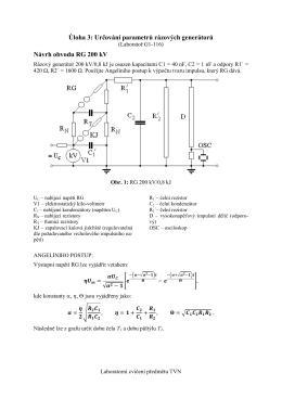 """Úloha 4: Určení U50 as metodou """" nahoru - dolů """""""