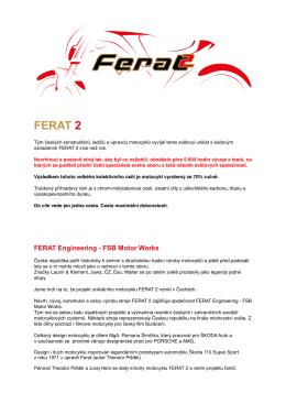 FERAT 2 - text - informace 2016